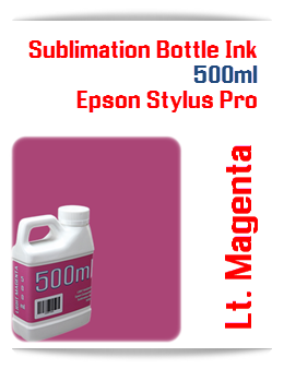 500ML Bottle Photo Light Magenta Sublimation Ink