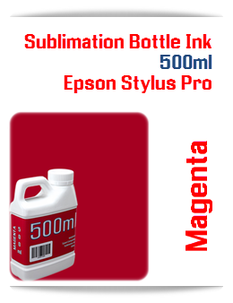 500ML Bottle Photo Magenta Sublimation Ink