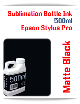 500ML Bottle Matte Black Sublimation Ink