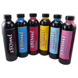 6 Color Refill Ink package 180ml each color