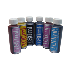 6-180ml Bottle Refill Sublimation Ink Epson Desktop Printers