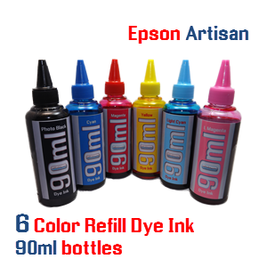 90ml 6 color ink package