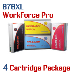 676XL 4 Cartridge Package