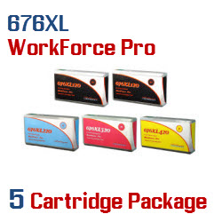 676XL 5 Cartridge Package