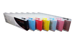 7-Stylus Pro 7600/9600 Refillable Ink Cartridges
