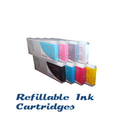Refillable ink cartridges for Epson printers