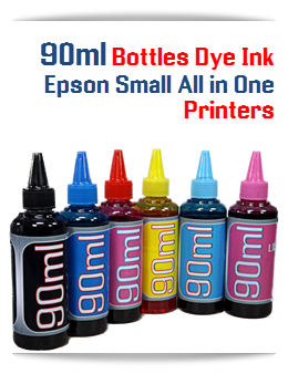 90ml DYE Bottle ink Epson Small All in One printers
