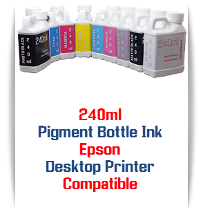 240ml Pigment Bottle Ink Epson Desktop Printers