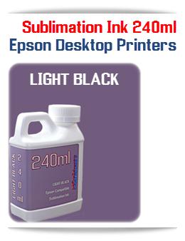240ML Light Black Sublimation Ink