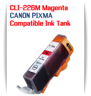 CLI-226M Magenta Compatible Canon Pixma printer Ink Cartridge W/ Chip