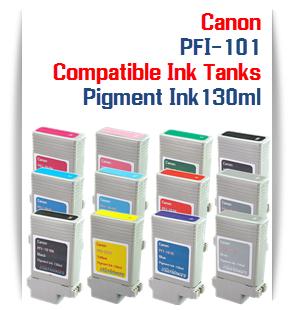 PFI-101 Canon Compatible Pigment Printer Ink tanks 130ml