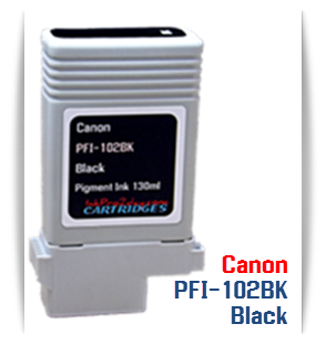 Canon PFI-102 imagePROGRAF Compatible Ink Tank 130ml