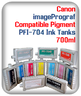 PFI-704 Canon imageProGraf Compatible Printer Ink Tank