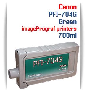 Green Canon imageProGRAF iPF8300, iPF8300S, iPF9300, iPF9300 Compatible Pigment Ink Tank 700ml