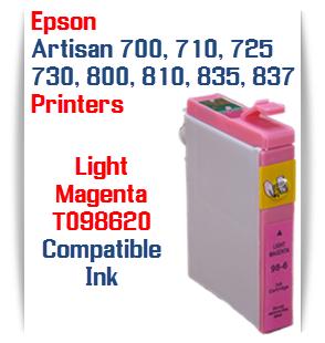 Epson Artisan T098620 Light Magenta Compatible Printer Ink Cartridge