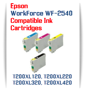 Epson WorkForce 2540 Compatible ink Cartridges