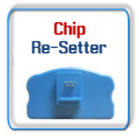 Chip Re-Setters for Ink Cartridges and Maintenance Tanks