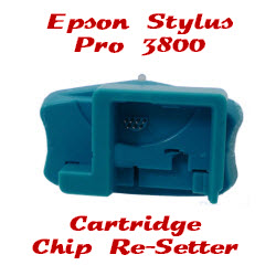 Cartridge Chip Re-Setter Epson Stylus Pro 3800