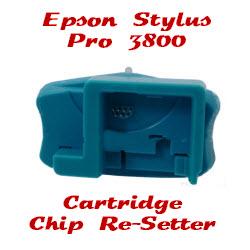 Cartridge Chip Re-Setter Epson Stylus Pro 3800