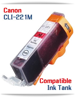 CLI-221M Magenta Canon PIXMA Compatible ink cartridge