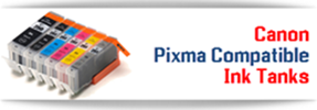 Canon PIXMA Compatible Ink Tanks