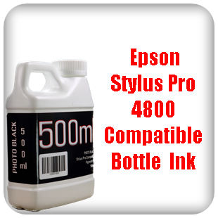 Bottle Ink Epson Stylus Pro 4800 printer