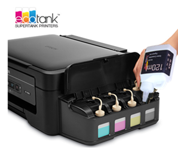 EPSON ECOTANK PRINTERS BOTTLE INK