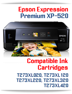 Epson Expression Premium XP-520 Compatible Ink Cartridges