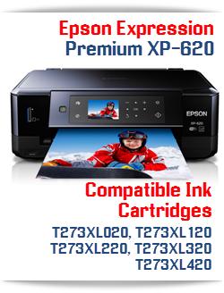 Epson Expression Premium XP-620 Compatible Ink Cartridges