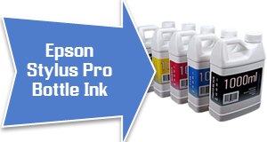 Bottle Ink For Epson Stylus Pro Printers