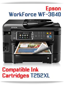Epson WorkForce WF-3640 compatible ink cartridges
