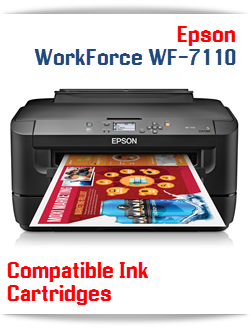 Epson WorkForce WF-7110 compatible ink cartridges