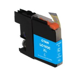 LC103C Brother Compatible High Yield Cyan Ink Cartridge