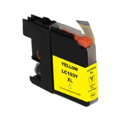 LC103Y Brother Compatible High Yield Yellow Ink Cartridge