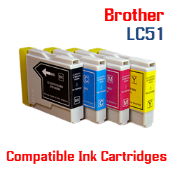 LC51 Brother Compatible Ink Cartridges