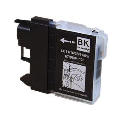 Brother LC61BK Black Compatible Ink Cartridge