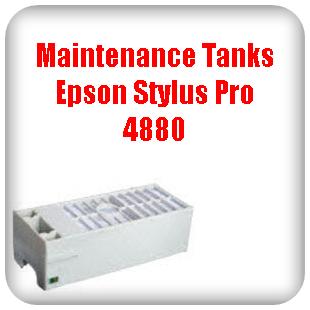 Maintenance Tanks Epson Stylus Pro 4880 printer