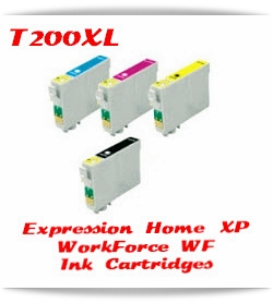 Epson Expression Home XP, WorkForce WF Printer Compatible Ink Cartridges