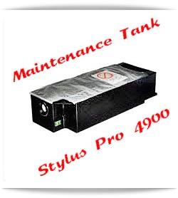 Maintenance Tank Epson Stylus Pro 4900