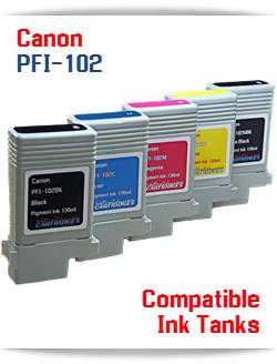 Canon PFI-102 Compatible Ink Tanks