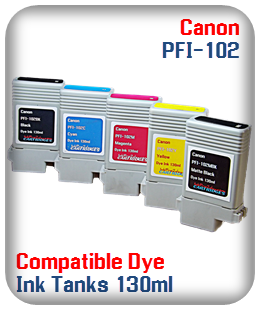 Pfi-102 Compatible Printer Ink Tank Dye Ink