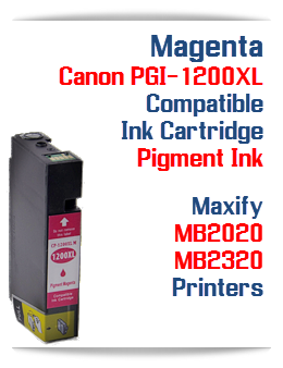 Magenta PGI-1200XL Compatible Ink Cartridge Canon Maxify MB2020, MB2320