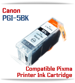 PGI-5BK Compatible Canon Pixma printer Ink Cartridge W/ Chip