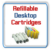 Refillable Small Desktop Printer Ink Cartridges