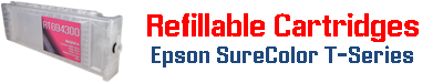 Refillable Cartridges Epson SureColor T-Series