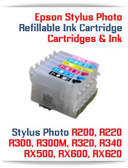 Epson Stylus Photo Refillable Ink Cartridges