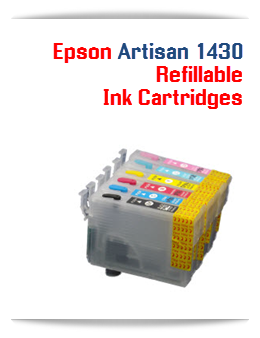 Refillable Printer Ink Cartridges Epson Artisan 1430 Printers