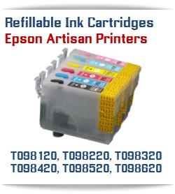 Epson Artisan Refillable ink cartridges
