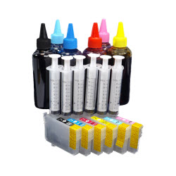 6 Cartridge & Ink Package