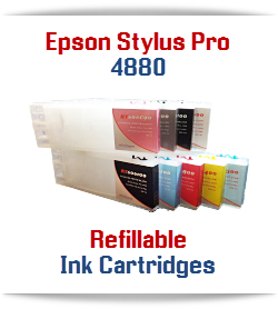Epson Stylus Pro 4880 Refillable Ink Cartridges
